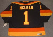 KIRK MCLEAN Vancouver Canucks 1987 CCM Vintage Away NHL Hockey Jersey