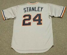 MICKEY STANLEY Detroit Tigers 1972 Majestic Cooperstown Away Baseball Jersey