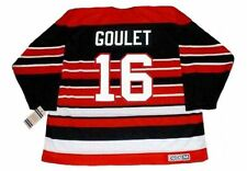 MICHEL GOULET Chicago Blackhawks 1992 CCM Vintage Throwback NHL Hockey Jersey