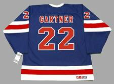 MIKE GARTNER New York Rangers 1991 CCM Vintage NHL Hockey Jersey