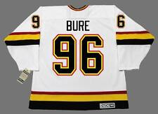 PAVEL BURE Vancouver Canucks 1996 CCM Vintage Throwback Home NHL Hockey Jersey