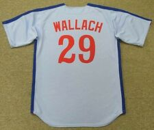 TIM WALLACH Montreal Expos 1982 Majestic Cooperstown Away Baseball Jersey