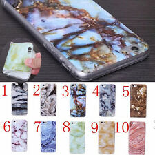 3D Pattern Marble Quartz Soft Silicone Back Case Cover Skin for iPhone 6 6s Plus