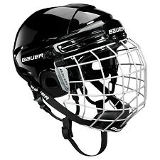 BAUER Helmet 2100 Combo (includes Cage) - Ice Hockey Helmet with Wire Cage