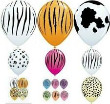 """Qualatex  20  x 11"""" Animal Print Latex Balloons Suitable for air or helium"""