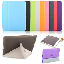 Ultra Slim Magnetic PU Leather TPU Smart Cover Case For Apple iPad Air Mini Pro