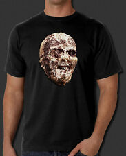 Lucio Fulci's Zombie 2 Zombi Horror movie film poster head new black t-shirt tee