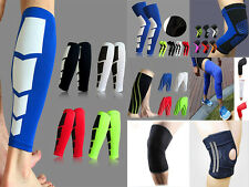 Knee/Calf Elastic Brace Muscle Compression Sleeve Arthritis Sports Pain Relief #