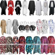 Fashion Long/Short Waterproof Hair Cutting Hairdressing Gown Cape Barber Salon