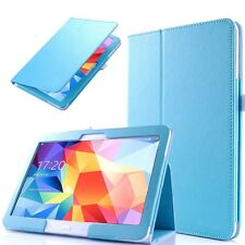 Ultra Slim PU Leather Folio Case Cover Stand For Samsung Galaxy Tab 4 10.1 T530