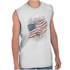 USA T Shirt Flag Bald Eagle Est. 1776 Mens Gift Ideas Graphic Sleeveless Tee