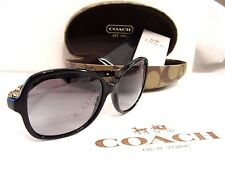 COACH Cole Sunglasses WITH CASE NIB BLK/GREY OR TORTOISE BROWN