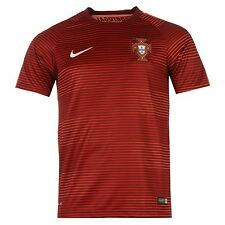 Nike Portugal Pre Match Jersey 2016 Mens Deep Garnet Football Soccer Shirt Top