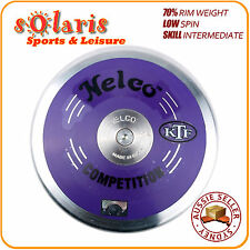 NELCO COMPETITION Discus 70% Rim Weight Low Spin Steel Rim Purple ABS Body