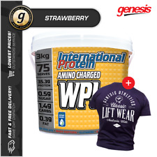 International Protein Amino Charged WPI 3KG *STRAWBERRY* - Whey Protein Isolate