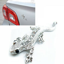 1x Car 3D Gecko Metal Emblem Badge Car Truck Auto Motor Sticker Decals Symbol YW