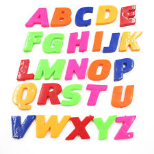 26pcs Set Teaching Magnetic Letters & Numbers Fridge Magnets Alphabet Hot TS