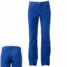 NWT Men Rock & Republic Neil Straight Corduroy Pants Blue Sz.30,32,34,36 $88
