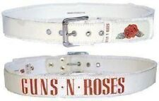 GUNS N ROSES BELT BANDLOGO REUNION 2016 Taille M+L Real Leather New