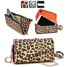 Wild Trim Protective Wallet Case Cover & Crossbody Clutch for Smart-Phones MUS8