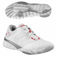 WILSON TOUR IKON WOMENS WHITE PINK TENNIS SHOES SIZE 6 10 MEDIUM NIB $120