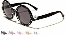 New Kids Children Round Polka Dot Boys Girls Oval Plastic Retro Sunglasses K-752