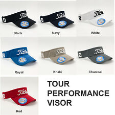 NEW 2016 Titleist Tour Performance Golf Visor Assorted One Size Adjustable