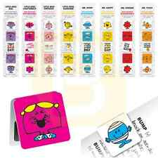 Mr Men & Little Miss Magnetic Bookmarks Page Markers Revision Birthday Gift