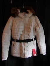 ~THE NORTH FACE Womens Parkina Down Jacket CX35128-M IVORY *SIZE VARIETY* NEW