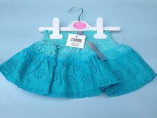 NEW !!!!! BABYS GYPSY SKIRT AQUA 3-6,6-12,12-18,18-23 MONTHS AVAILABLE