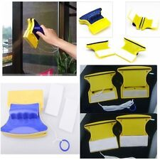 Magnetic Window Cleaner Double Side Glass Wiper Cleaner Surface Useful Brush #F5