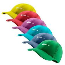NIKE Womens Dri-Fit Feather Light Running Tennis Hat Cap Assorted Colors New