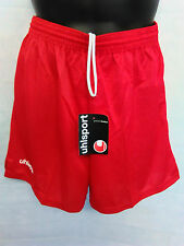 Unisex Uhlsport Sports Football Short Brand New With Tags Fast Postage Red