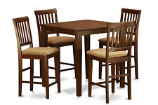 3 Pc Counter Height Table Set-gathering table set and 2 kitchen counter chairs