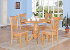 3 Piece kitchen nook dining set-kitchen table and 2 slat back Chairs