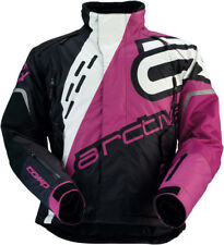 Arctiva Womens Black/Purple Comp Insulated Snowmobile Jacket