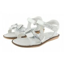 LELLI KELLY LK 9454 WHITE PATENT LEATHER SANDALS WITH FREE GIFT