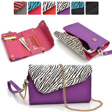 Lady Link Wallet Case & Crossbody Clutch Cover for Smart-Cell-Phones CRSL8