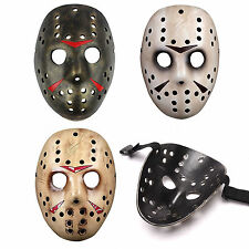 Horror Movie Friday the 13th Jason Voorhees Mask Vintage Halloween Costumes