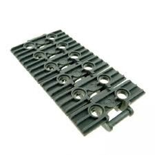Lego Technic Large Plate Link (57518 - Dark Stone Grey) Choose Quantity New