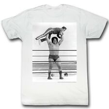 Andre The Giant T-Shirt – Lightweight Wrestling White Adult Tee Shirt
