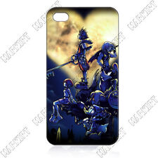 Disney Kingdom Hearts Black or White iPhone 4 4s OR 5 Cover Case - Free Ship USA