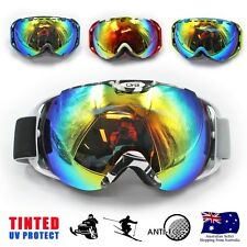 Professional Skiing Snowboard GOGGLES Ski Tinted Goggles antifog dual lens Tinte