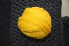 Chunky Wool Yarn. Super Bulky Knitting. 100% wool. Arm Knitting. Wool Roving