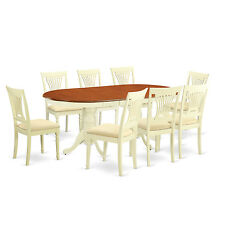 9 Piece dining room table set-dining table plus 8 Dining Chairs