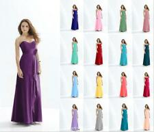 Gorgeous Bridesmaid Dress Evening Formal Ball Gown Prom Wedding Party Size 6-18