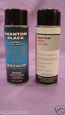 Moeller Marine Clear Coat Mercury Phantom Black Paint