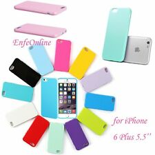 """Rubber Soft Silicone Gel Bumper Case Cover Skin New For Apple iPhone 6 Plus 5.5"""""""