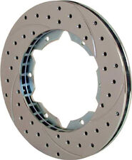 Wilwood 160-7106 SRP Drilled Performance Rotors Diameter: 12.19'' Width: .81''