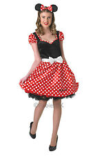 SALE! Adult Sassy Disney Minnie Mouse Ladies Fancy Dress Costume Party Outfit
